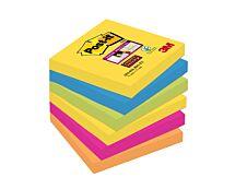 Notes Super Sticky Post-it Rio - 76 x 76 mm - 6 blocs