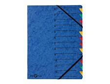 Pagna office Easy - Trieur à fenêtres 12 positions - bleu