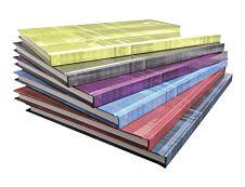 Clairefontaine - Cahier broché rigide A4 (21x29,7 cm) - 192 pages - grands carreaux (Seyes) - disponible dans différentes couleurs