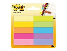 Marque-pages Post-it en papier - 10 blocs de 50 feuilles