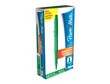 Paper Mate FLAIR ORIGINAL - Pack de 12 - feutres fins - pointe moyenne - vert