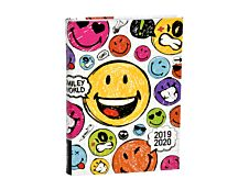 Smiley World Agenda Polypro 1 Jour par page 12,5X17,5cm Alpa