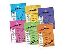 Canson - Crobart - bloc dessin - 80 feuilles - A5