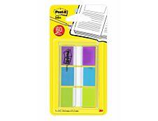 Marque-pages Post-it souples - Lot 3 x 20