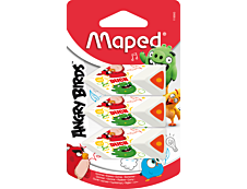 Maped - 20 gommes - Pyramide Angry Birds