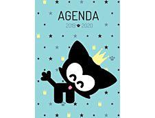 Chacha Agenda Princesse 1 Jour par page 12X17cm 352 pages Kid'Abord