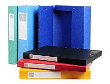 Exacompta Exabox - Boîte de classement en carte lustrée - dos 25 mm - disponible dans différentes couleurs