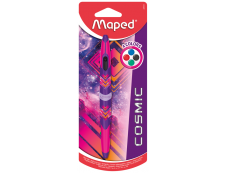 Maped Cosmic Teens - Stylo à bille 4 couleurs Twin Tip  - rose