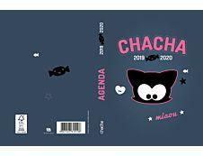 Chacha Agenda Miaou 1 Jour par page 12X17cm 352 pages Kid'Abord