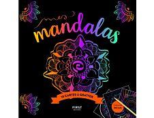 Cartes à gratter Mes Mandalas
