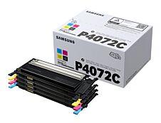 Samsung CLT-P4072C - Pack de 4 - noir, cyan, magenta, jaune - cartouche laser d'origine
