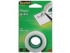 Scotch Magic - Rouleau recharge de ruban adhésif - 19 mm x 25 m