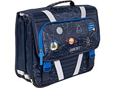 Cartable Galaxy 41 cm 2 compartiments Kid'Abord