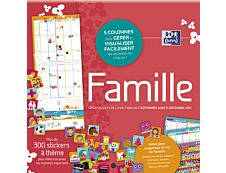 Calendrier Oxford Family - 1 Mois sur 2 pages - 30 x 30 cm