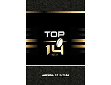 Top 14 Agenda 1 Jour par page 12X17cm 352 pages Kid'Abord