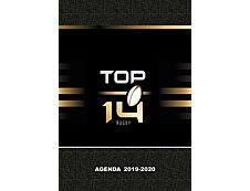 Top 14 Agenda 1 Jour par page 12X17cm 352 pages Kid'Abord