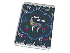Agenda Hola Lama 1 Jour par page 12X17cm 352 pages Kid'Abord