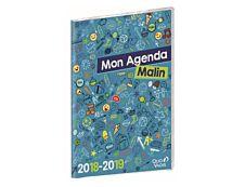 Agenda Mon Agenda Malin CM1-CM2 - 1 semaine sur 2 pages - 21 x 29,7 cm - Quo Vadis