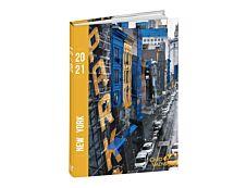 Agenda Cities - 1 jour par page - 12 x 17 cm - différents modèles disponibles - Quo Vadis