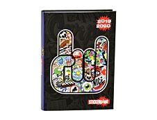 Agenda Sticker Bang 1 Jour par page 12,5X17,5cm Alpa