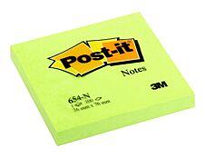 Notes Post-it Vert Néon - 76 x 76 mm