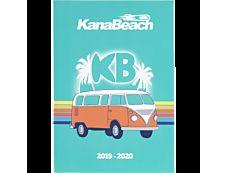 Kanabeach Agenda 70'S 1 Jour par page 17X12cm 352 pages Oberthur