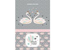 Agenda Magic Swan 1 Jour par page 12X17cm 352 pages Kid'Abord