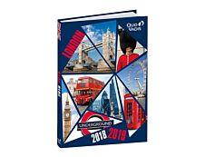 Agenda Cities avec stickers 1 jour par page Quo Vadis