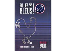 Allez Les Bleus Agenda 1 Jour par page 12X17cm 352 pages Kid'Abord
