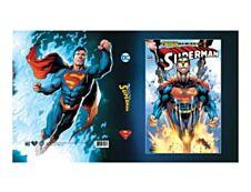 DC Batman & Superman - Chemise à rabats - A4