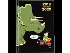 Agenda Humour Illustré 1 Jour par page 18X13cm 336 pages Oberthur