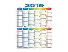 RAYNARD - calendrier - 430 x 550 mm