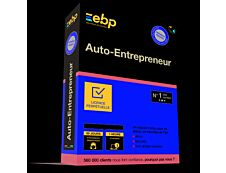 EBP Auto-Entrepreneur Classic - dernière version + Services associés - 1 utilisateur