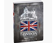 Agenda Country Flag - 1 jour par page - 12 x 17 cm - différents modèles disponibles - Exacompta
