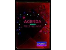 Agenda personnalisable Exclu Bureau Vallée - 1 jour par page - 12,5 x 17,5 cm - Oberthur
