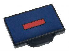 Trodat - Encrier bicolore 6/56/2 recharge pour tampon 5460/5465 - bleu/rouge