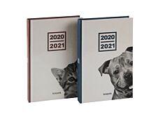 Agenda Amici - 1 jour par page - 11,5 x 16,9 cm - 2 modèles assortis - Brepols