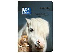 Agenda Oxford Funny Pets - 1 Jour par page - 12 x 18 cm - différents modèles disponibles