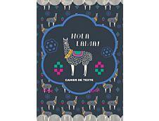 Cahier de textes Hola Lama 15X21cm Kid'Abord