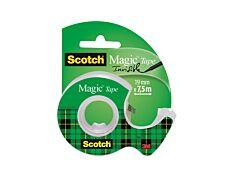 Scotch Magic - Ruban adhésif - 19 mm x 7,5 m - avec dévidoir