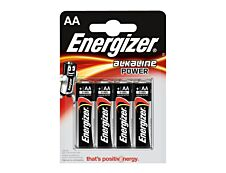 ENERGIZER Power - 4 piles alcalines - AA LR06