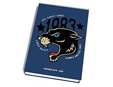 Camps Agenda Tigre 1 Jour par page 12X17cm 352 pages Kid'Abord