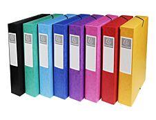 Exacompta Exabox - Boîte de classement en carte lustrée - dos 60 mm - disponible dans différentes couleurs