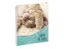 Cahier de textes Funny Pets 17X22cm Exacompta