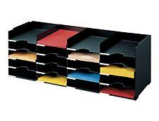 Bloc de classement 20 cases (A4) - PAPERFLOW - 89 x 7 cm - Noir