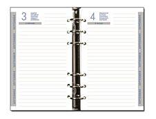 Exacompta Exatime 17 - recharge pour organiseur septembre à septembre - 1 jour par page - 105 x 172 mm