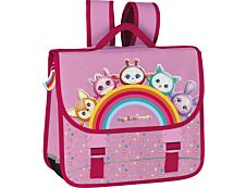 Squishimals Rainbow - Cartable 32 cm - 2 compartiments - Hamelin