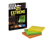 Post-it Extreme - Notes adhésives extérieures - Extreme
