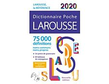 Larousse Dictionnaire de poche 2020