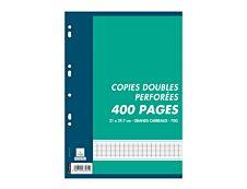 Cambridge 400 copies doubles grands carreaux A4 perforées